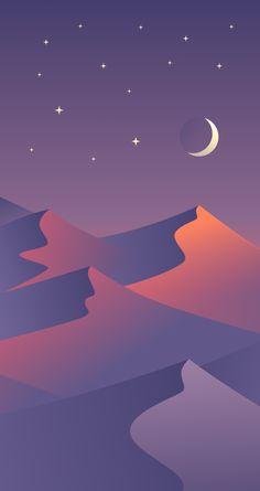 Desert Night Smartphone Wallapaper by Maria Shanina