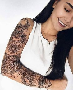 full black sleeve tattoo meaning - full black sleeve tattoo mean. - full black sleeve tattoo meaning – full black sleeve tattoo meaning - Black Sleeve Tattoo, Full Sleeve Tattoo Design, Best Sleeve Tattoos, Sleeve Tattoos For Women, Boho Tattoos, Trendy Tattoos, Body Art Tattoos, Hand Tattoos, Girl Tattoos