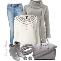 Sparkle Sweater, created by jbaker1663 on Polyvore