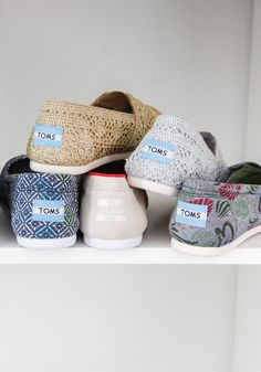 TOMS new Classics help make a difference in the lives of others. One for One.