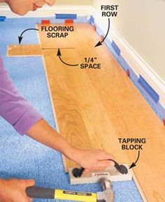 Tools Needed To Install Laminate Flooring the tools you will need wood floors can be installed How To Lay Laminate Flooring