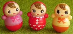 Kawaii Japanese Roly Poly Dolls