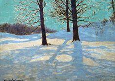 Winter Sun by Frank Johnston (1888-1949)