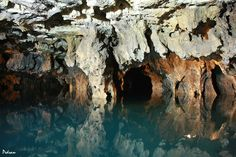 Ali-Sadr Cave - Hamedan - Iran | 10 to 11 kilometers long and all lead to the 'Island'