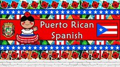 The Sound of the Puerto Rican Spanish dialect (Numbers, Greetings, Words, Phrases & Story) European Languages, Love Languages, Puerto Ricans, Spanish Language, Learning Spanish, Numbers, Make It Yourself, Words, Youtube