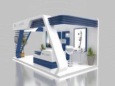 Orthomedics Booth on Behance Kiosk Design, Display Design, Retail Design, Exhibition Stall Design, Exhibition Stands, Exhibit Design, Design Stand, Interior Architecture, Interior Design