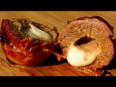 How To Make Bacon Meatballs Stuffed With Cheese | Simple And Easy Recipes