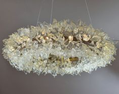 Sea color bubbles Hanging chandeliers - light fixture for dinning room, living room or open space. by yehudalight