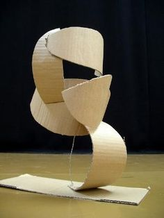 Cardboard sculpture by arlene