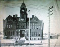 pictures of spokane   The original Franklin School built in 1889.