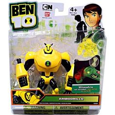 Ben 10 Four Arms Power Up Action Figure Lights Sounds Talk Kids Toy Gift Boys