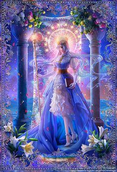 The High Priestess by Takaki