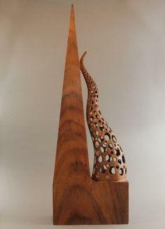 NAIRI SAFARYAN Modern Sculpture, 2011 Koa wood www.woodsymphony.com