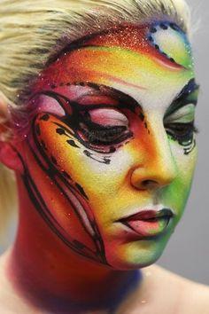 Stick art studio school #makeup: