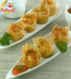 Resep Sajian Dengan Saus Mayones, Siomay Goreng Saus Mayo Pedas, Masakan Ala Cafe, Club Masak