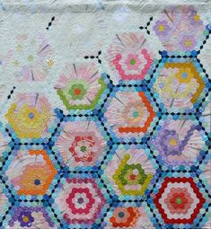 Dear Flowers (ディア フラワー) (Grand mother's Garden) Quilt & Stitch Show 2017 東京キルト&ステッチショー2017