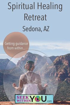Seeking guidance from within is a core teaching at Seek Within You. Come join us for a Spiritual Healing Retreat in Sedona, Arizona and learn how to deeply understand your communication from within. You are being guided all the time. Are you listening? Spiritual Coach, Spiritual Power, Spiritual Guidance, Spiritual Awakening, Eat Pray Love, Sedona Retreats, Karma, Grand Canyon Vacation, Law Of Attraction Money