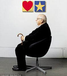 'At one stage I probably had a bit of a problem with my drinking, although I've never been to AA. And I don't drink like that any more,' said Peter Blake (pictured with two of his paintings) John Lennon Beatles, The Beatles, English People, Beatles Albums, Tracey Emin, Peter Blake, Trash Art, Lonely Heart, Artist At Work