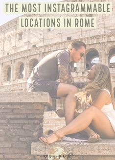 The most Instagrammable places in Rome European Vacation, European Travel, Italy Travel Tips, Travel Destinations, Best Places To Travel, Photo Location, Weekend Trips, World Heritage Sites, Rome