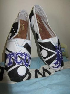 TOMS I painted  Available now at alscustomkicks.com!