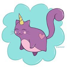 Super cute Cat-icorn!