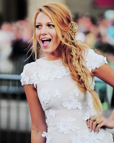 Blake Lively. Her sense of style is just amazing