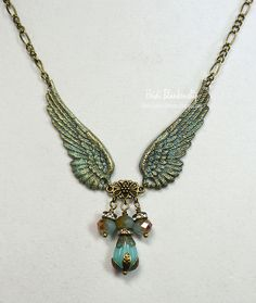 April 2015 Giveaway - Angel Wing Necklace by Heidi