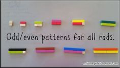 Using The Silent Way to teach with Cuisenaire Rods