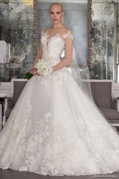 Romona Keveza Fall 2016 Luxe Bridal Wedding Dresses   Wedding Inspirasi