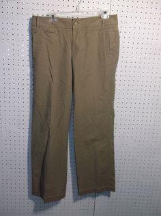 Eddie Bauer Mercer Fit Womens Khaki Pants Size 10T Inseam 29'' #EddieBauer #KhakisChinos
