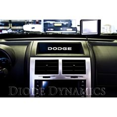 2008-2011 #Dodge #Nitro Dash Accent Plate #diodedynamics