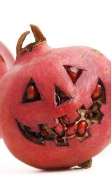 Happy Halloween from all of us at Ruby Fresh Pomegranates. We found some cool pomegranate jack-o-lantern ideas. How will you incorporate into your Halloween celebrations! Halloween Celebration, Halloween Food For Party, Happy Halloween, Pomegranate Art, Pomegranates, Pumpkin Carving, Lantern, Celebrations, October