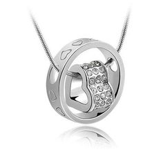 Beautiful heart in ring necklace and you can even take off the ring and wear it on your finger if you like!!!!!  Only $19.99 at www.liquidationwebcanada.com