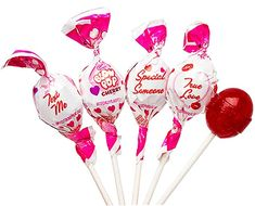 Amazon.com : Charm's Valentine's Day Cherry Blow Plops, 11.5 oz : Grocery & Gourmet Food Bulk Candy, Hard Candy, Valentine Treats, Valentine Day Gifts, Pop Bag, Felt Hearts, Candyland, Winter Holidays, Gourmet Recipes