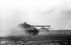 "Panzers VI ""Tiger II"" (Königstiger) en route.France June 1944."