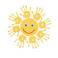 Joyful Sonne Handabdrücke
