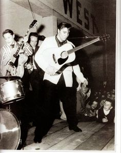 Let´s Keep the 50´s Spirit Alive!: Elvis Presley and Scotty Moore