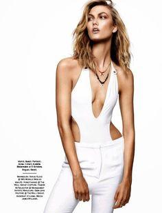 """""""Karlie Class"""" Karlie Kloss for Glamour France June 2015"""