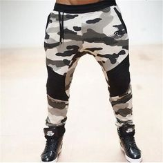 2017 Brand New Gold Medal Fitness Casual Elastic Pants Stretch Cotton Men's Pants Body Engineers Jogger Bodybuilding Pants