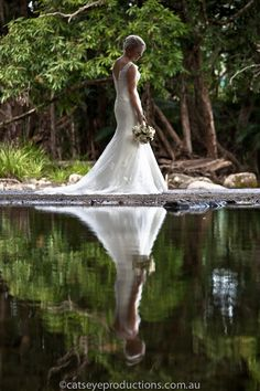 Rainforest wedding photography