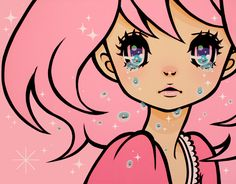 One of my Favorite artists~ Madoka Kinoshita!!! Love her bold defined lines and of course the feel of it. Very young, free, wild, and interesting. :) Do visit her blog and youtube channel~