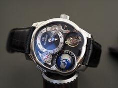 Until the Grand Sonnerie came out, one of the most complicated watches Greubel Forsey had in its portfolio was the GMT – a notably pithy name which is in stark contrast to the size, general visual impact, and complexity of the watch itself. It's very seldom that you get a chance to actually see a Greubel Forsey watch in the metal, although over the years I've been lucky enough to see more than my fair share. In 2006, one year after the Double Tourbillon 30° launched, I got to sit next...