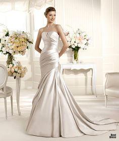 Perfect Wedding Dresses wedding dresses wedding glamour featured fashion.  #weddingdream123