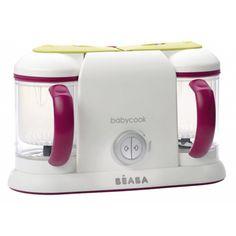Babycook Duo gipsy El Robot de cocina es sin duda uno de los electrodomesticos que más te facilitan la elaboración de algunos de los alimentos que precisa nuestro hijo. Aprovechamos el 100% de los productos utilizados, y la cocción es mediante vapor. Mas Información: http://www.petchibebe.com/shopping/products/45-Robot-Cocina/2685-Babycook-Duo-gipsy---Beaba/