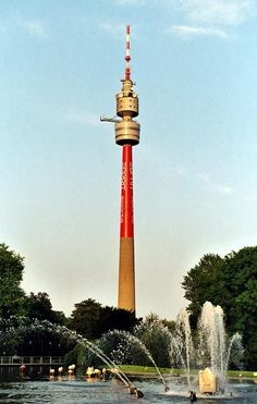 Bunter Florianturm in Dortmund