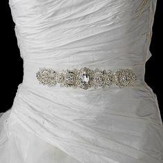 Vintage Rhinestone Crystal Wedding Sash Bridal Belt White or Ivory Rhinestone Wedding, Crystal Wedding, Vintage Rhinestone, Vintage Glam, Wedding Dress Sash, Wedding Belts, Bridal Belts, Wedding Shoes, Wedding Gowns