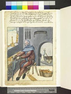 Rottschmitt, metal worker 1567  Die Hausbücher der Nürnberger Zwölfbrüderstiftungen