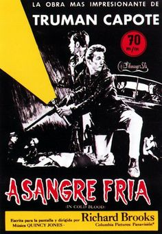 A sangre fría (1967) EEUU. Dir: Richard Brooks. Drama. Suspense. Road Movie. Baseado en feitos reais - DVD CINE 239