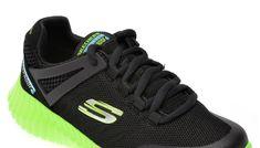 Pantofi sport SKECHERS negri, Elite Flex Hydropulse, din material textil