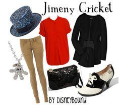 Jimeny Cricket inspired.  Loooovvveee the shoes!!!